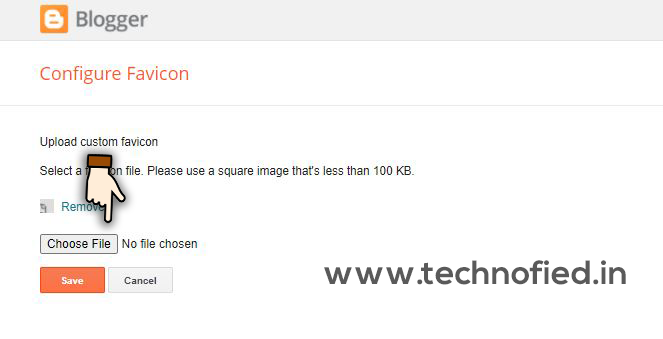 how to blogspot favicon step 2